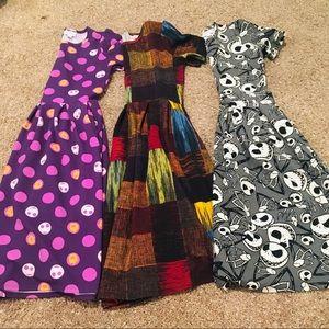 LuLaRoe Nightmare Before Christmas Dress Bundle